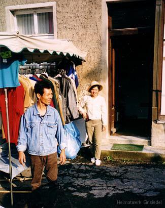 Vietnamese mit Frau in Einsiedel 1999
