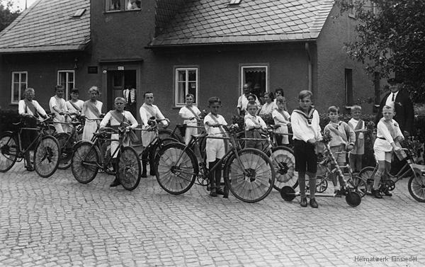 Einsiedler Hauptstraße 38 Juli 1931.