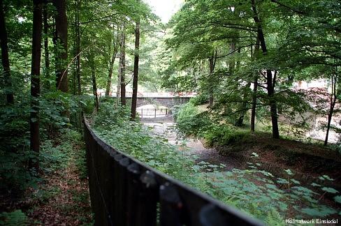 Kaskade oberhalb Brücke 2008