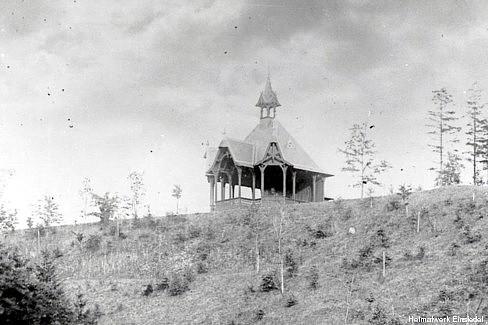 Pavillon an der Einsiedler Talsperre