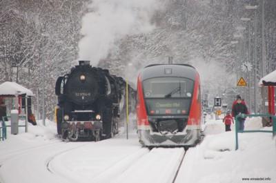 Dampf trifft Diesel