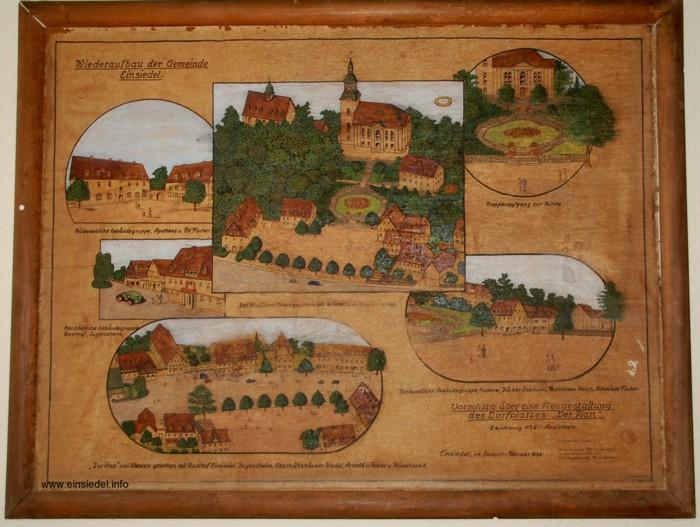 Geplante Neugestaltung Areal Am Plan 1946
