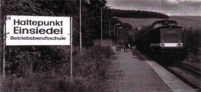 Ehemaliger Haltepunkt 8. Mai in Einsiedel