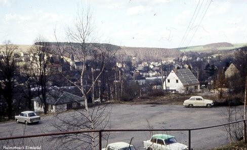 Parkplatz unterhalb der Einsiedler Waldklause