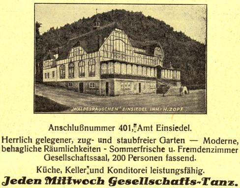 Werbeanzeige 1931