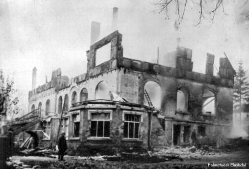 Brandruine 1946