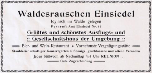 Werbeanzeige 1924