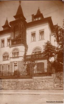 Herrmannstr. 9 (Postkarte) 1913, errichtet von Anton Herrmann
