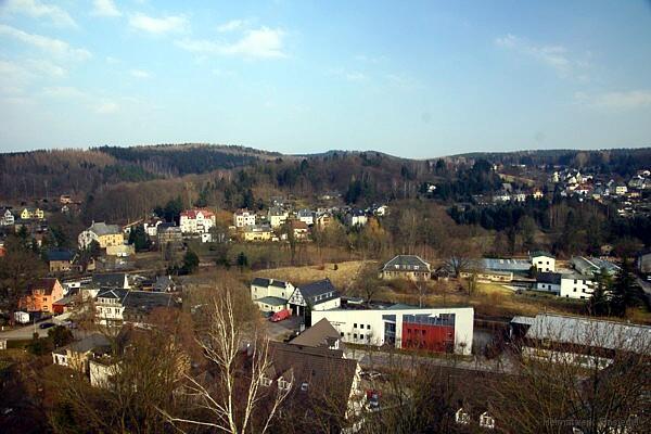 Kirchturmblick am 25.03.2018