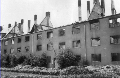 Ruine August-Bebel-Platz 2 bis 5