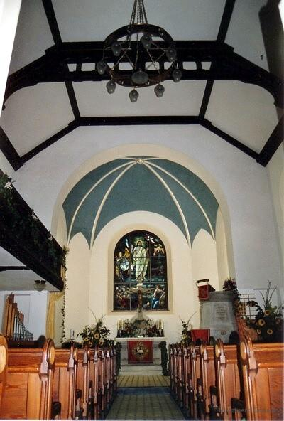 Altar der Kirche Berbisdorf