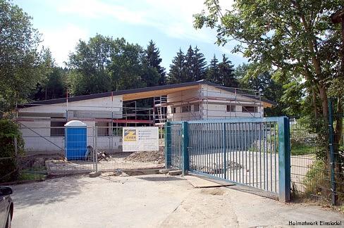 Umbau Freibad Einsiedel 2009 (Eingangsbereich)