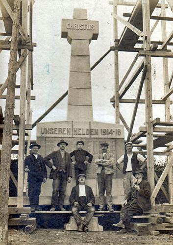 Kriegerdenkmal Einsiedel fertiggestellt 1922