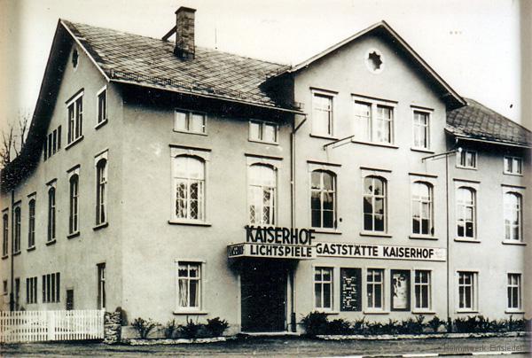 Kaiserhof Einsiedel nach der Modernisierung 1940.