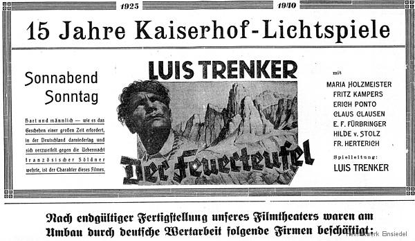 Kaiserhof Lichtspiele