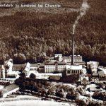 Papierfabrik Einsiedel, Luftbildaufnahme aus den 1920er Jahren