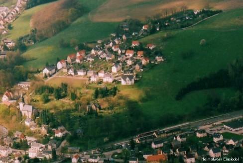 Luftbildaufnahme April 2005