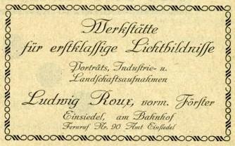 Anzeige im Adressbuch 1926/27