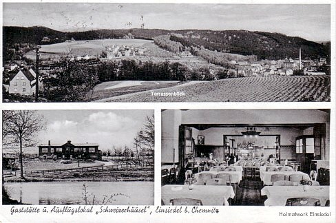 Gaststätte und Ausflugslokal Schweizerhäusel Einsiedel