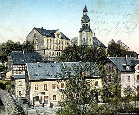 3. Schule Einsiedel um 1902