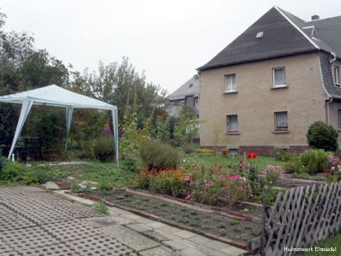 Giebel Harthauer Weg 6 in Einsiedel 2004