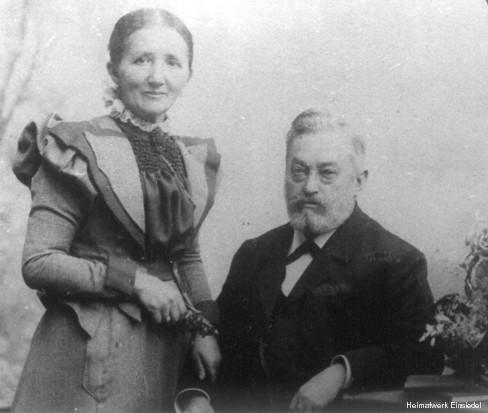 Pauline und Carl Franz Hahn