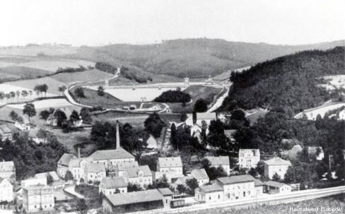Wattefabrik Franz Hahn vor 1900