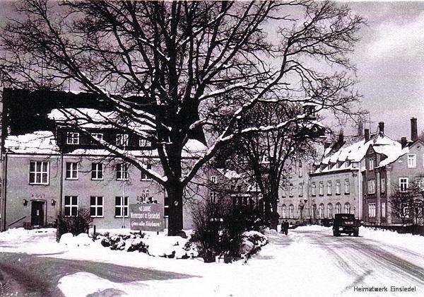 Luthereiche Einsiedel im Winter 1964