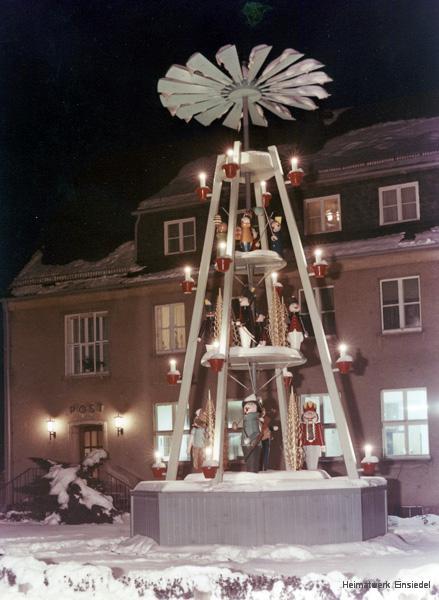 Weihnachts-Pyramide Einsiedel 1970