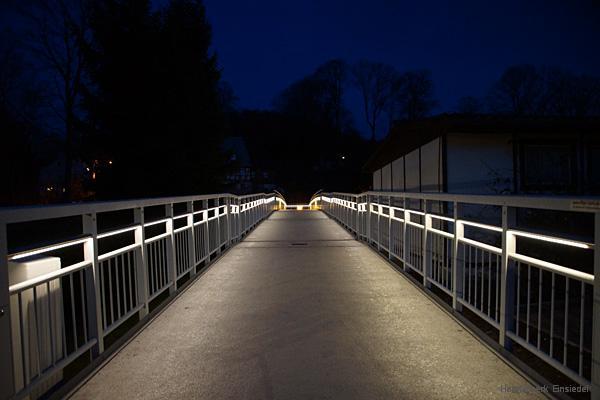 Brücke im Talsperrengrund Einsiedel