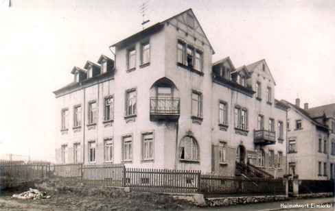 Kolonialwaren Müller in Einsiedel vor 1908