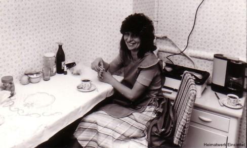 Andra Hamar, ehemals angestellt im Friseursalon Belling