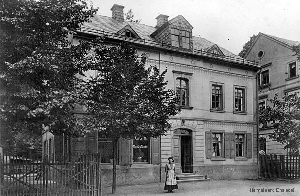 Fleischerei Moritz Fischer, Einsiedel, Hauptstr. 90
