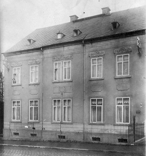 Einsiedel, Hauptstr. 127, in den 1920er Jahren