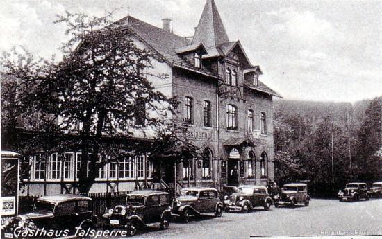 Restaurant zur Talsperre, Einsiedel, 1930er Jahre