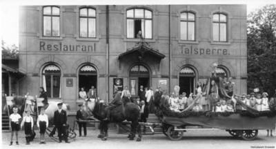 Kinderfest in Einsiedel im Juli 1931