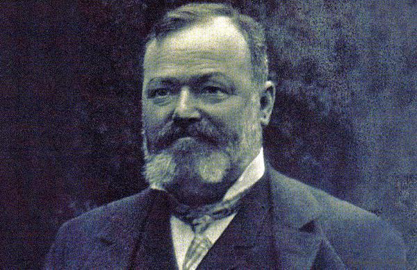 Emil Schwalbe, Gründer der Brauerei Schwalbe