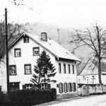 Druckerei Baßler in Einsiedel in den 1930er jJahren