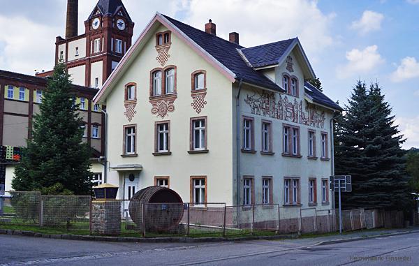 Verwaltungsgebäude des Einsiedler Brauhauses 2013