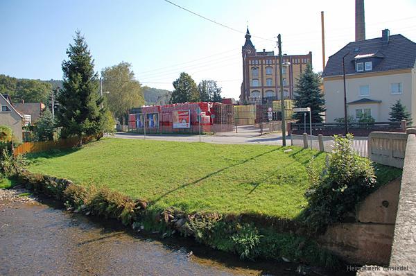 Grundstück des ehemaligen Roscherhäusels in Einsiedel im September 2006Einsiedler Hauptstr. 119