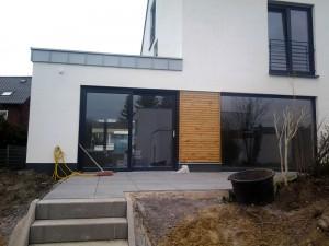 Heiming Zimmerei - Einbau Lärchenholzverschalung Bottrop