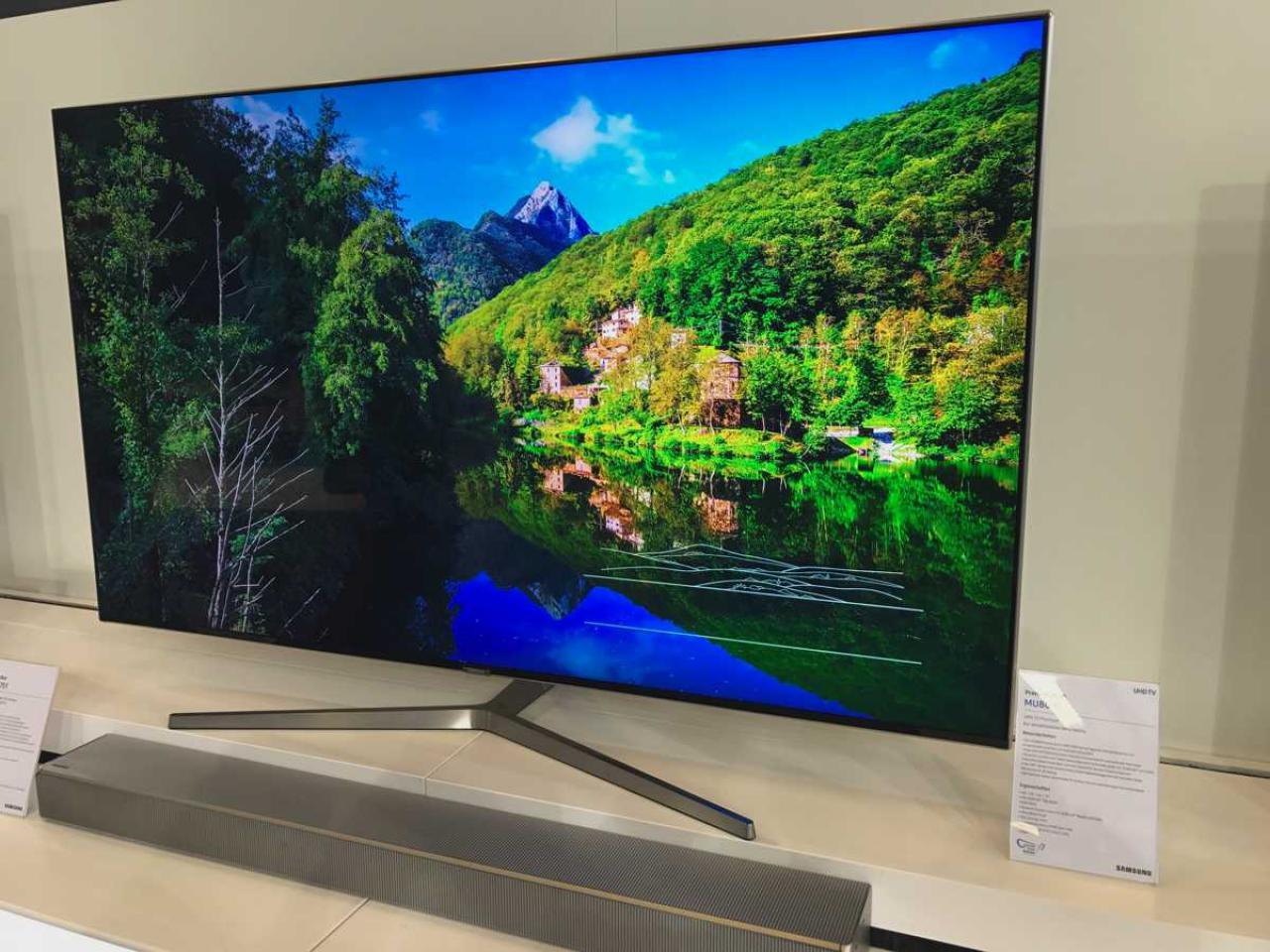 Neues Jahr Neue Fernseher Samsung S Generation