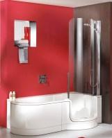 Badewanne dusche kombi mit tür – Eckventil waschmaschine