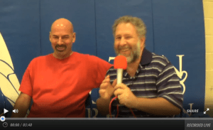 John Houck interviews Dave Murphy at the American Freestyle Open