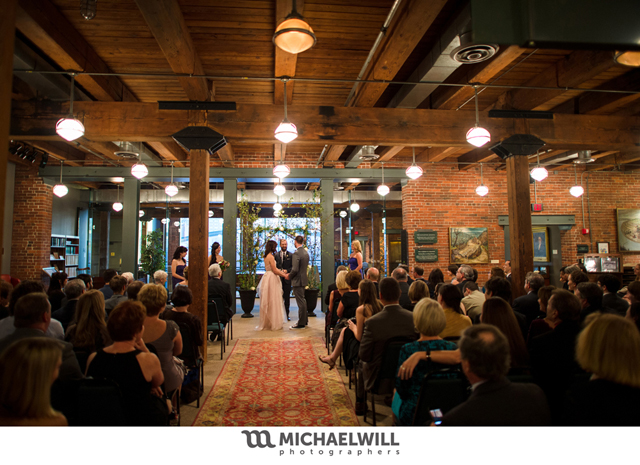 Wedding Ceremony in the Library & Archives Reading Room