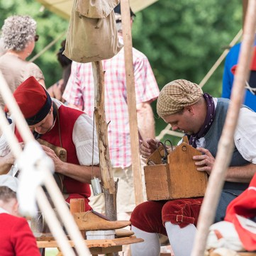 Living History at the Fort Pitt Museum
