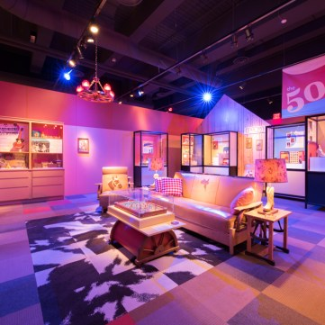1950s Living Room | Toys of the '50s, '60s and '70s exhibit at the Heinz History Center