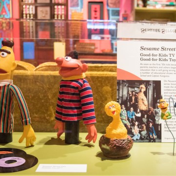 Sesame Street | Toys of the '50s, '60s and '70s exhibit at the Heinz History Center