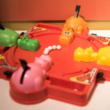 Hungry Hungry Hippos | Toys of the '50s, '60s and '70s exhibit at the Heinz History Center
