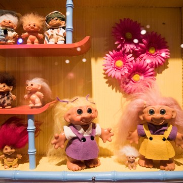 Troll doll, Dam Trolls, 1964. | Toys of the '50s, '60s and '70s exhibit at the Heinz History Center